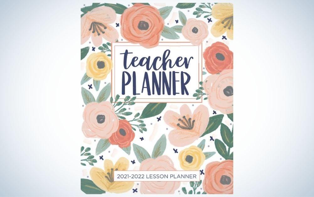 The Pretty Simple Lanners Teacher Planner is the best budget teacher planner.