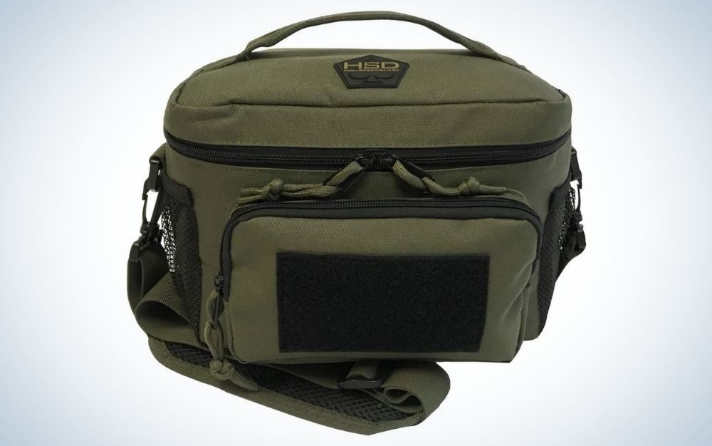 The HDS Thermal Lunch Box Tote is the best lunch box for men.