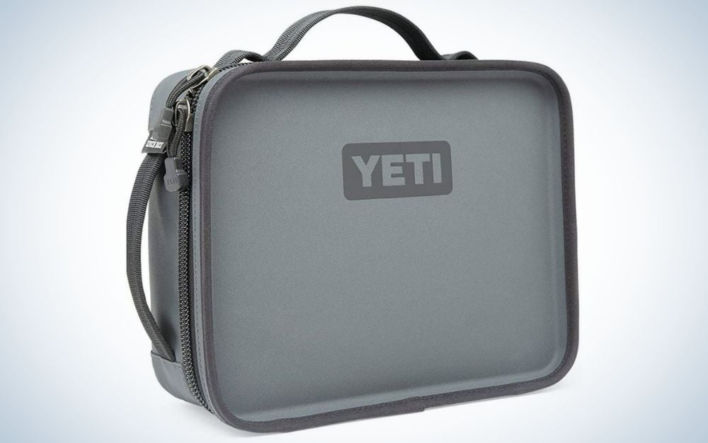 The Yeti Daytrip Lunch Box is the best for long shifts.