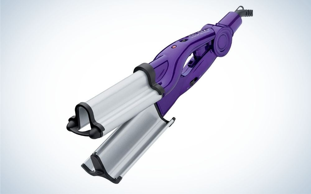 The Bed Head Wave Artist Deep Waver is the best curling iron for beach waves.
