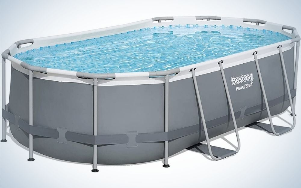 The Bestway Power Above-Ground Pool Set is the best for small parties.