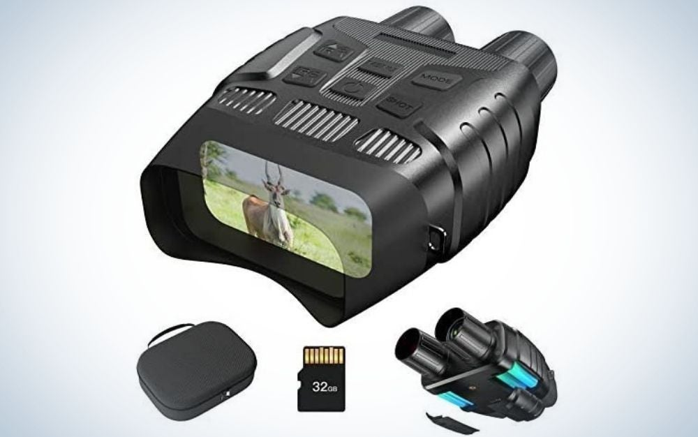 JStoon Night-Vision Goggle are the best night vision goggles for kids.
