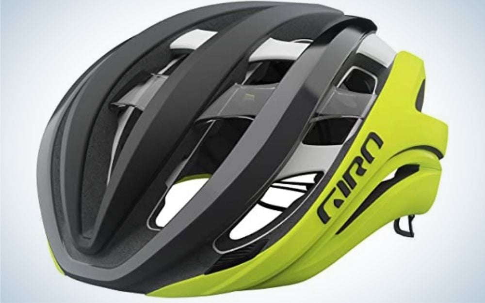 The Giro Aether Spherical Adult Road-Bike Helmet is the best bike helmet.