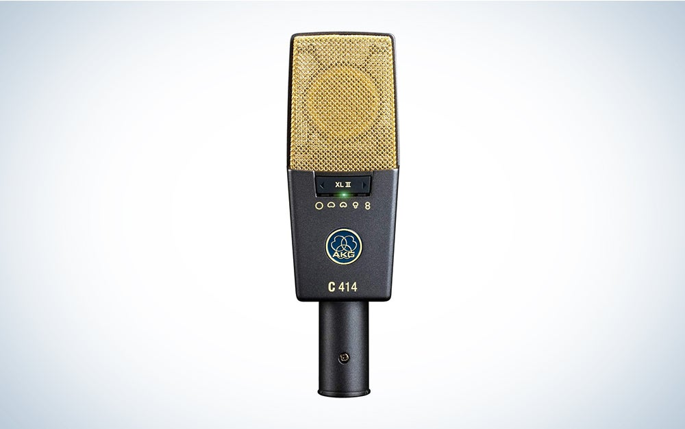 akg c414 is the best microphone for vocals