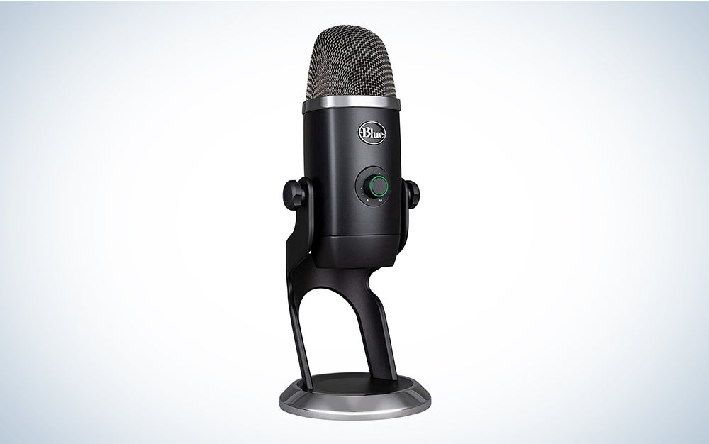 Blue Yeti X USB is the best microphone for vocals