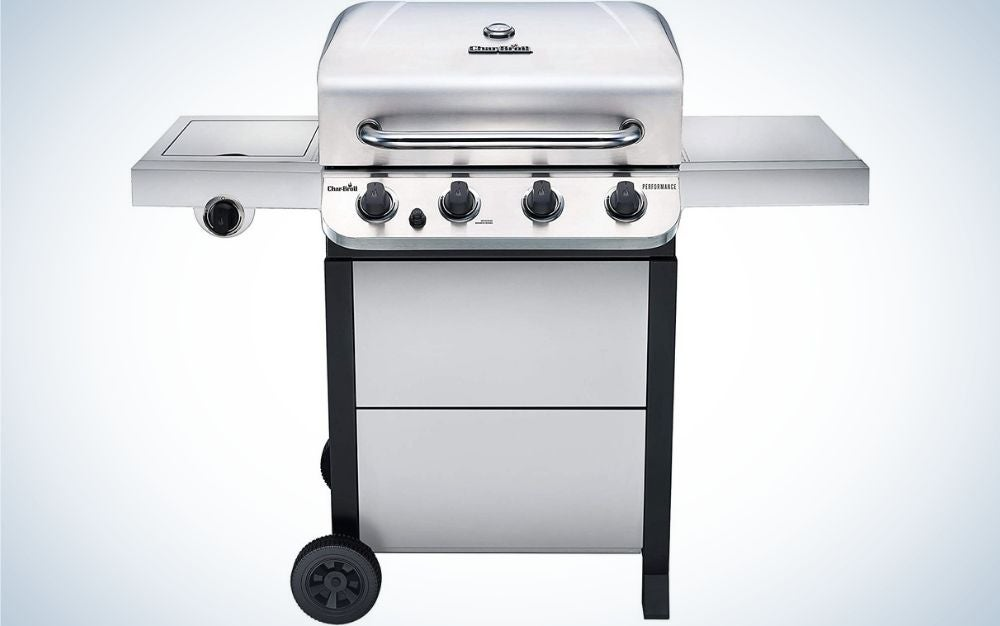 The Char-Broil 463377319 Performance 4-Burner is the best gas grill for everyday grillers.