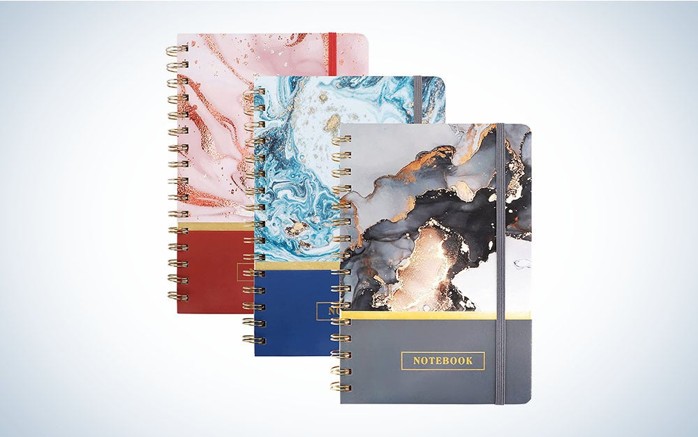 The EOOUT 3 Pack Spiral Notebook College Ruled Notebooks are the best notebooks at a great price.