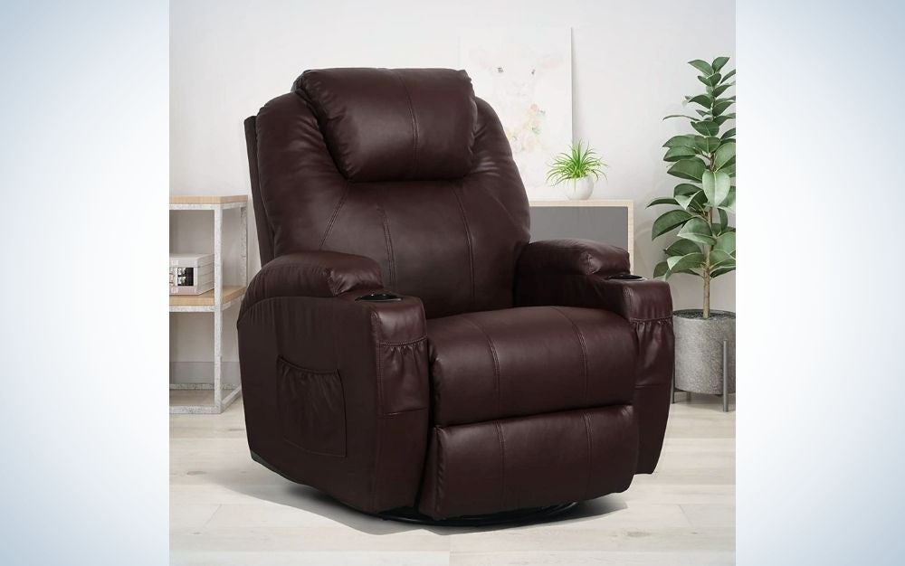 The Esright Massage Recliner Chair is the best massage chair for the style-conscious.