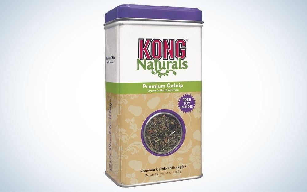 King Naturals Premium Catnip are the best cat treats.