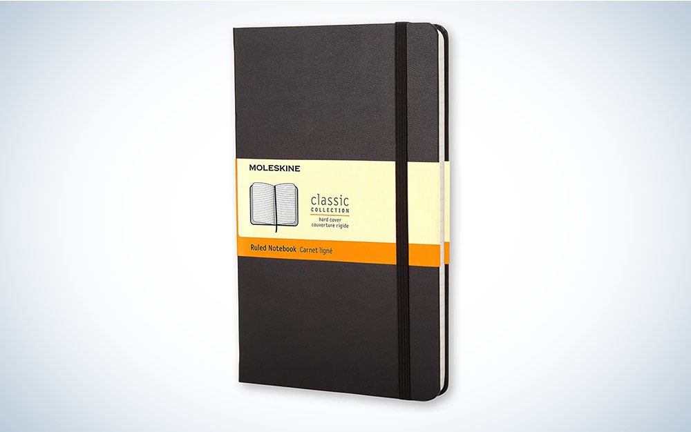 The Moleskine Classic Notebook is the best notebook.