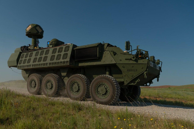Army tank at Fort Sill, Oklahoma