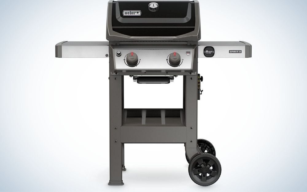The Weber 44010001 Spirit II Liquid Propane Grill is the best gas grill for first-time homeowners.