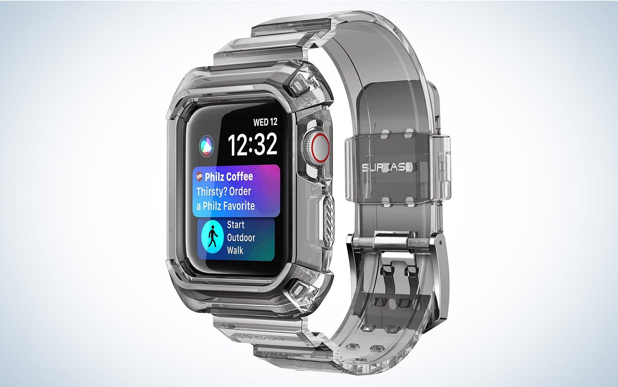 Clear is the best Apple Watch Case