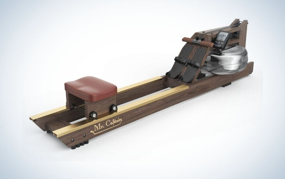 Mr. Captain Rowing Machine is the best rowing machine for water.