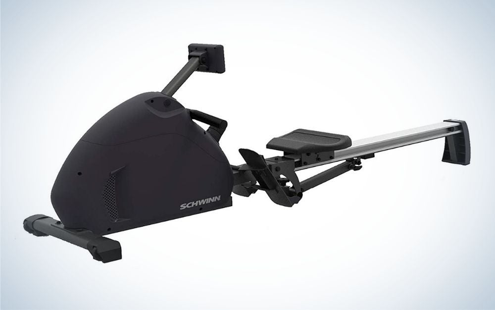 The Schwinn Crewmaster Rower is the best rowing machine that's foldable.