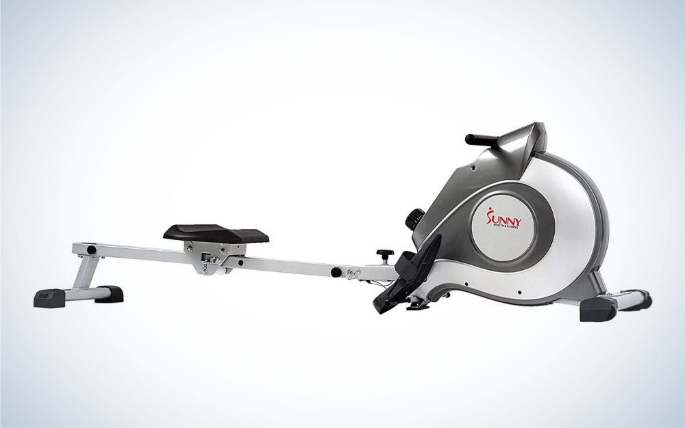 The Sunny Health & Fitness Magnetic Rowing Machine is the best budget pick.