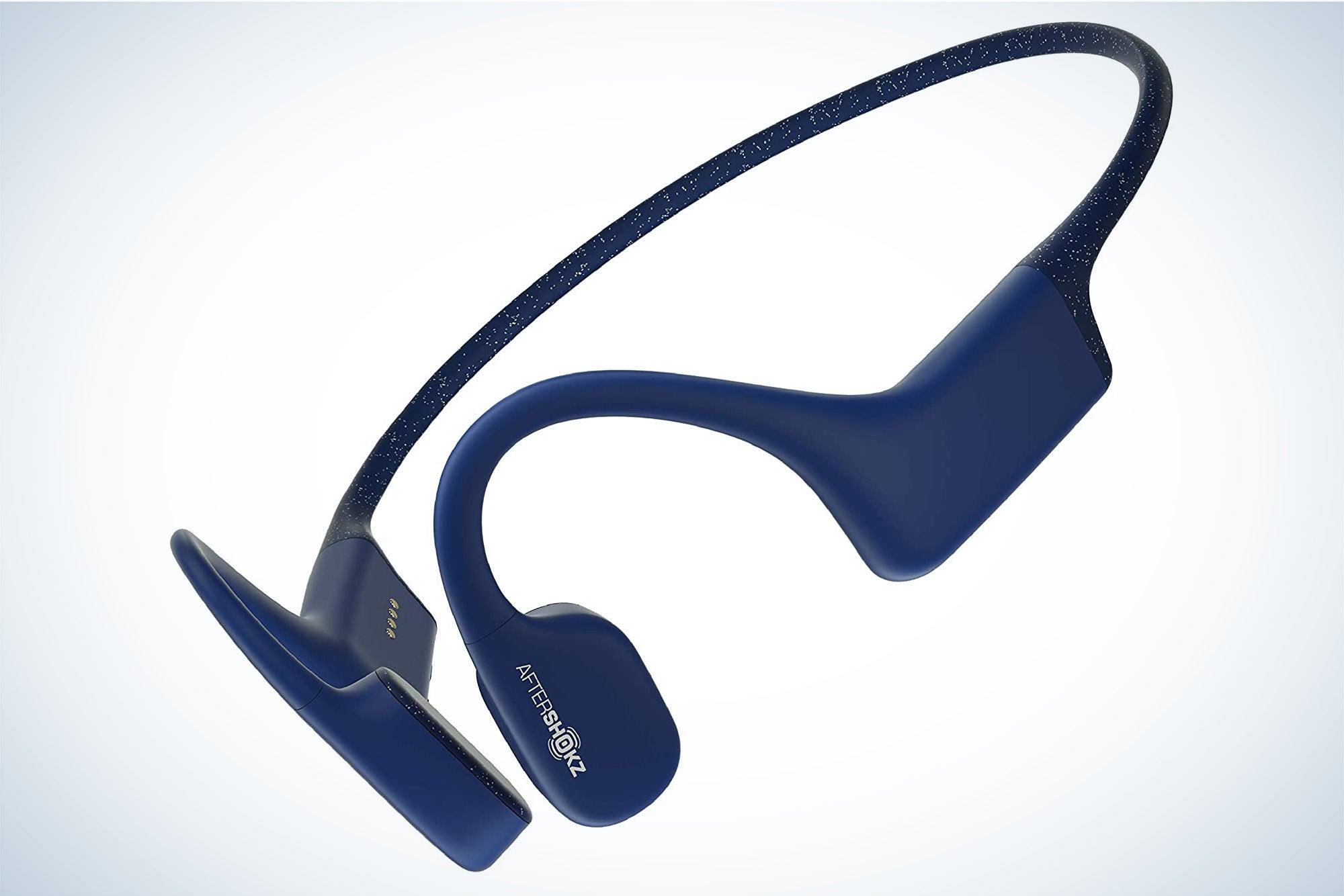 AfterShokz Xtrainerz are the best bone-conduction headphones.