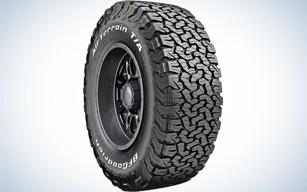 The BF Goodrich All-Terrain T/A K02 is the best snow tire for off-roaders.