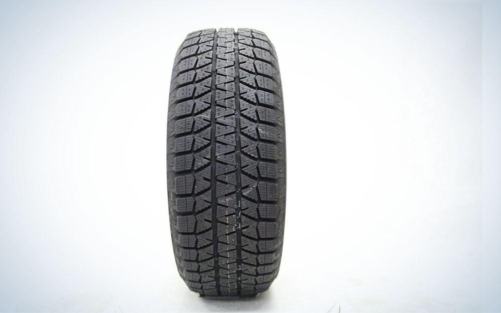 The Bridgestone Blizzak WS80 is the best snow tire for cars.