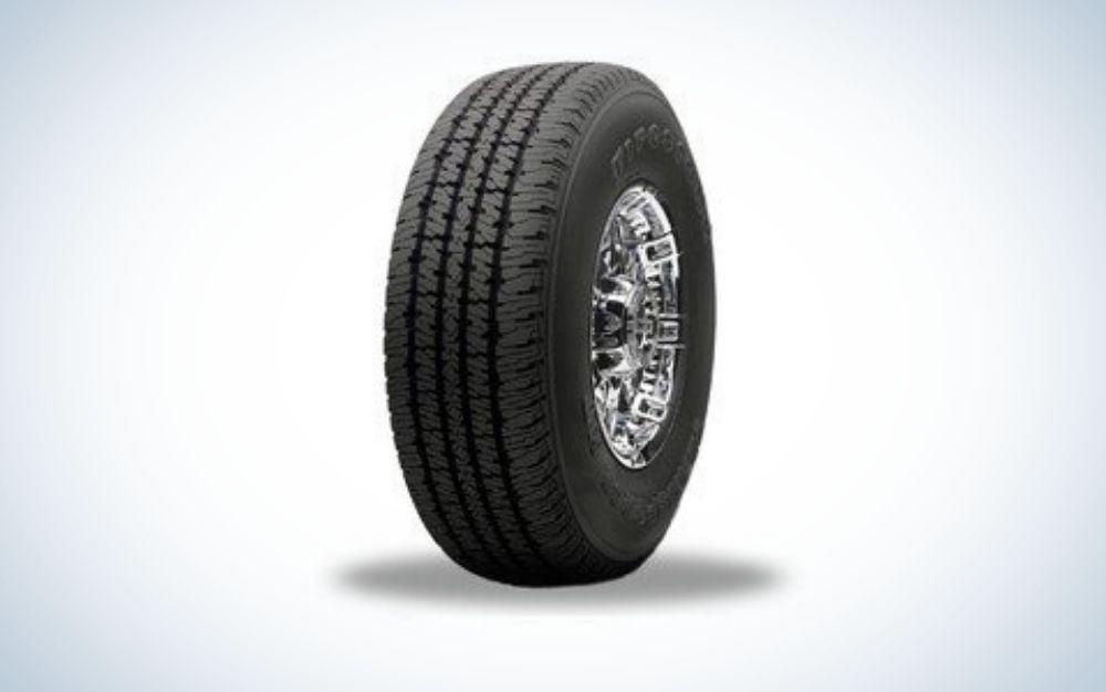 The Firestone Winterforce LT 225 is the best snow tire for light trucks.