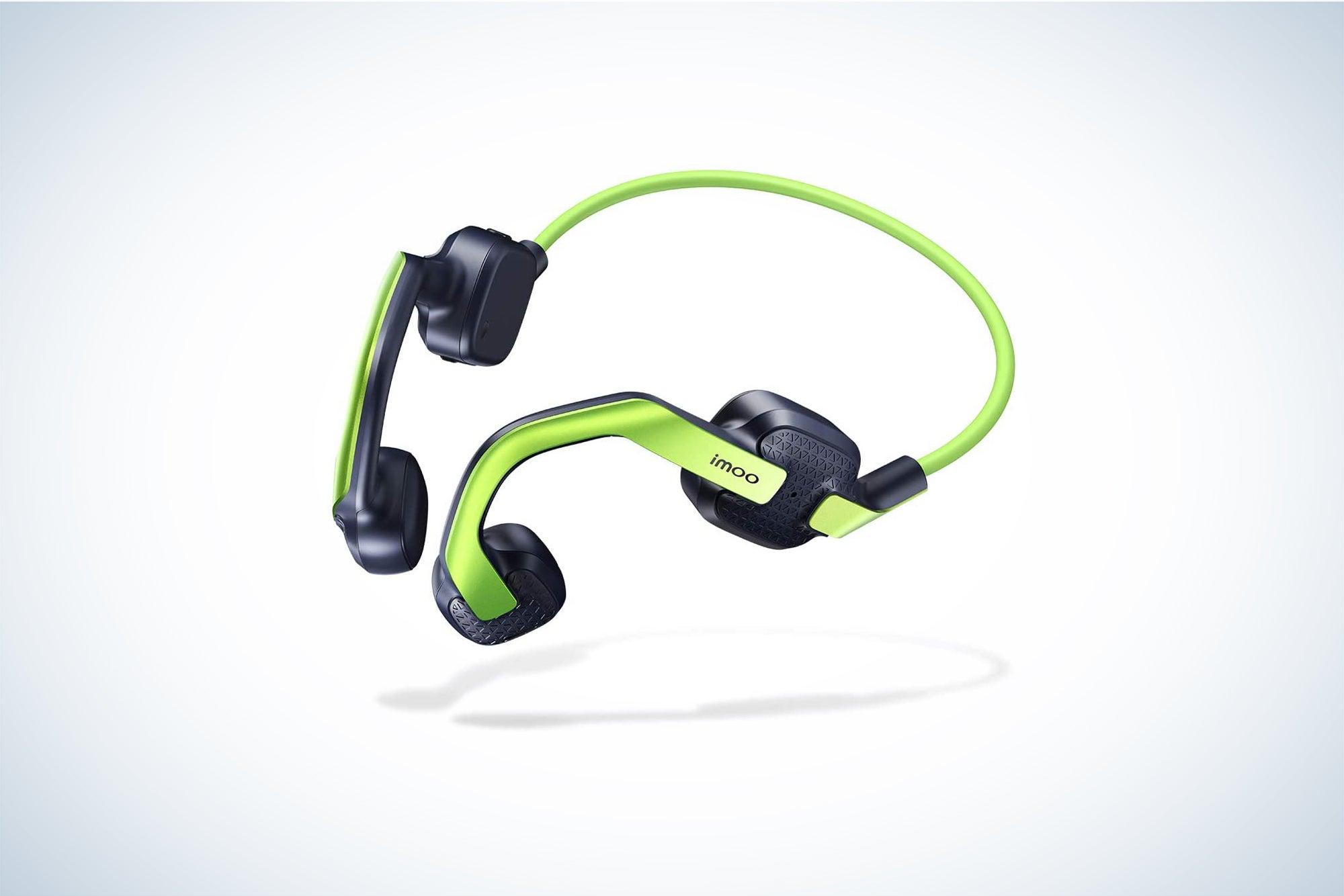 imoo kis are the best bone-conduction headphones.