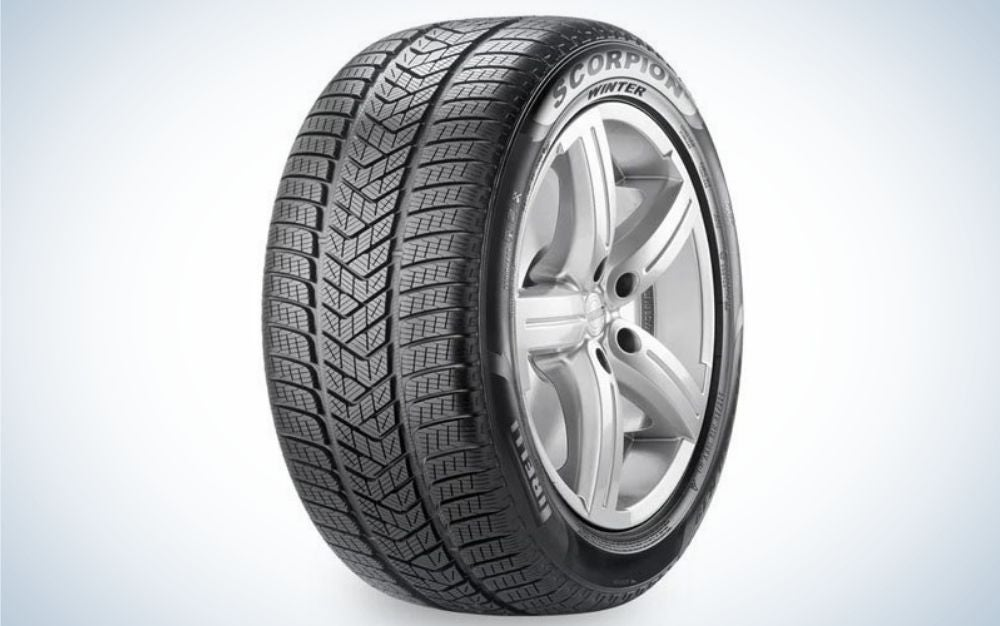 The Pirelli Scorpion P265 Winter Tire is the best snow tire for luxury crossover vehicles.