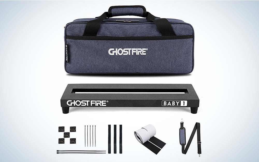 The GhostFire V-Baby 1 is the best pedalboard for your money.