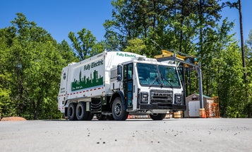 Electric garbage trucks are the quiet, clean titans of waste collection