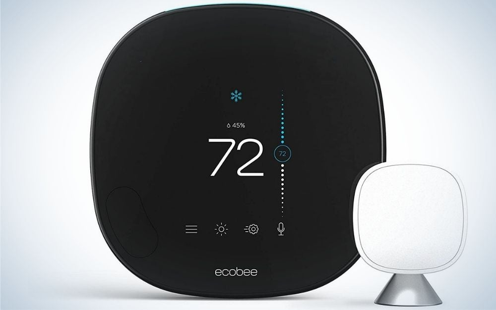 The Ecobee SmartThermostat comes with the best voice control.