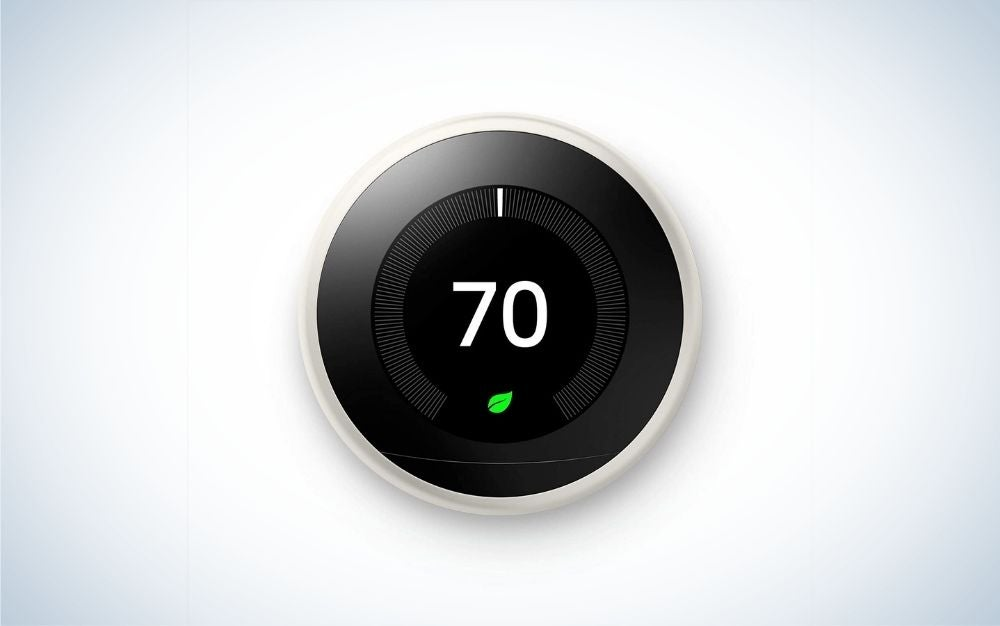 Google Nest is the best learning smart thermostat.
