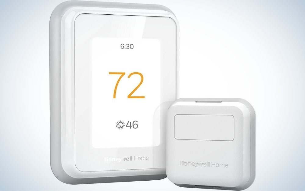 The Honeywell Home T9 WiFi Thermostat is the best for manual operation.