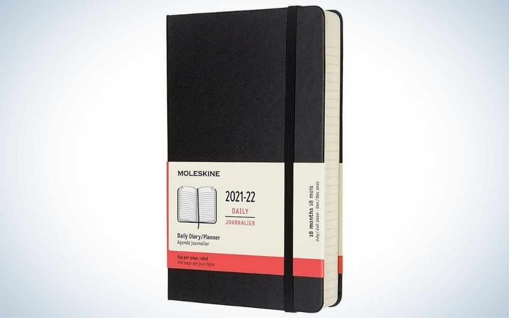 The Moleskine Classic 18-Month Daily Planner is the best minimalist planner.