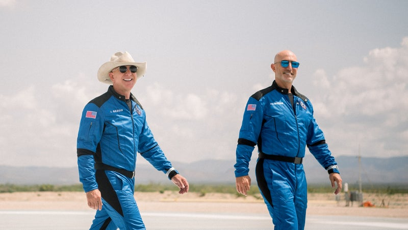 Jeff Bezos is suing NASA. Here's why.