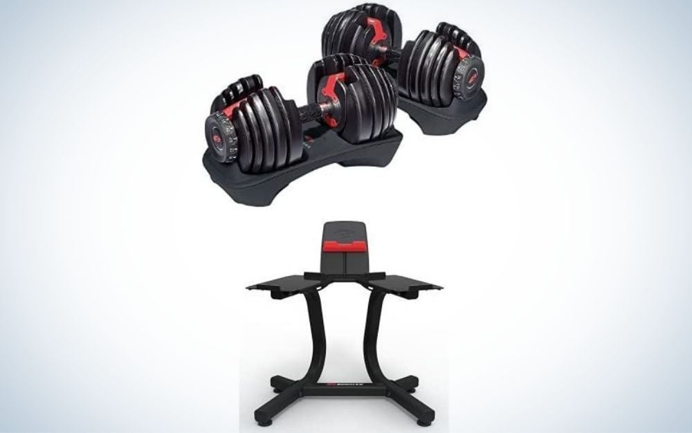 bowflex-select-tech-adjustable-dumbbells-and-stand-bundle-best-for-lifters