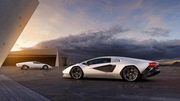 Lamborghini Countach hybrid cars.