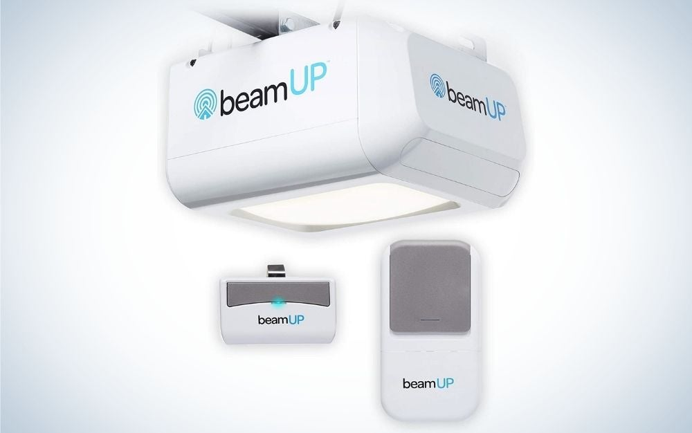 The beamUP Workhorse BU100 is the best garage door opener for people on a budget.