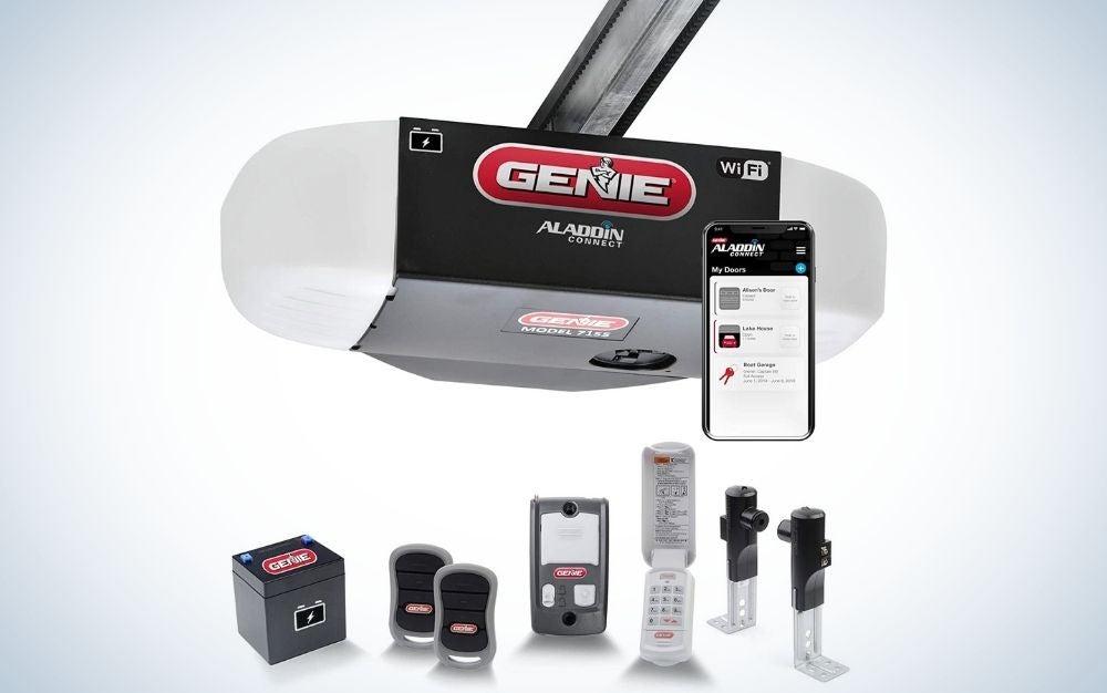 The Genie StealthDrive Connect Model 7155-TKV is the best smart garage door opener.