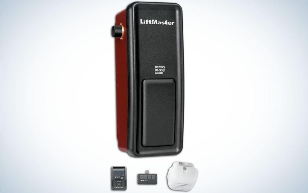 The LiftMaster 8500 Elite Series is the best wall-mount garage door opener.