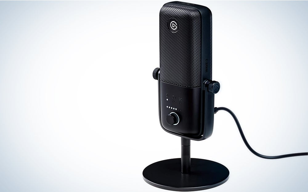 Elgato Wave:3 is the best mic for streaming.