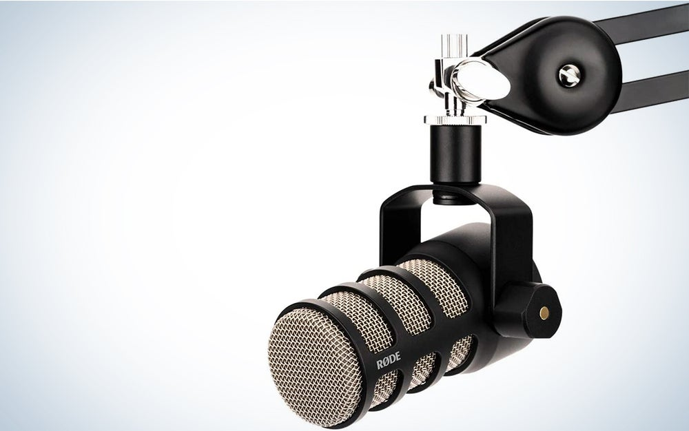 Rode PodMic is the best mic for streaming.