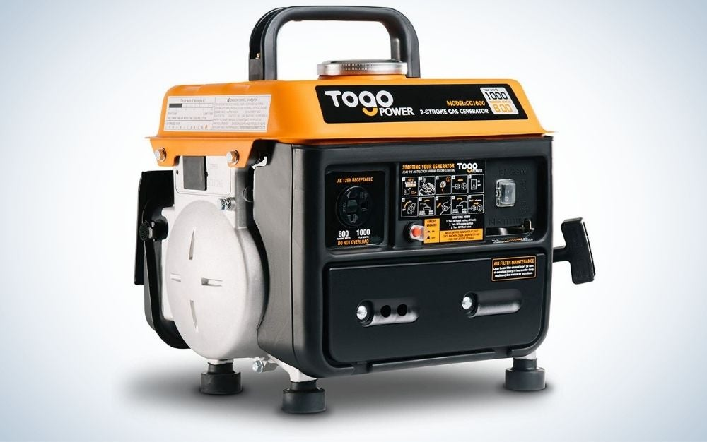 The TogoPower Portable Generator is the best electric generator for small appliances.