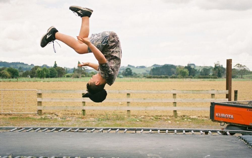 Reach new heights on the best trampoline.