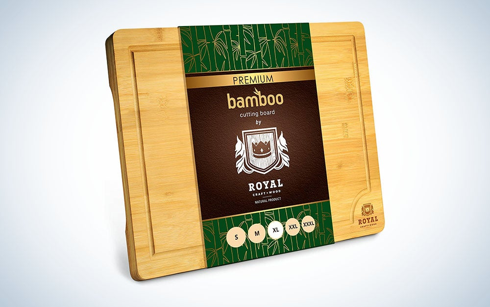 Best bamboo cutting board
