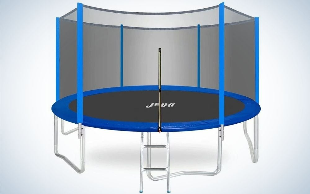 The Jupa Outdoor Trampoline is the best outdoor trampoline.