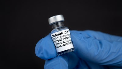 The FDA officially approved Pfizer's COVID-19 vaccine