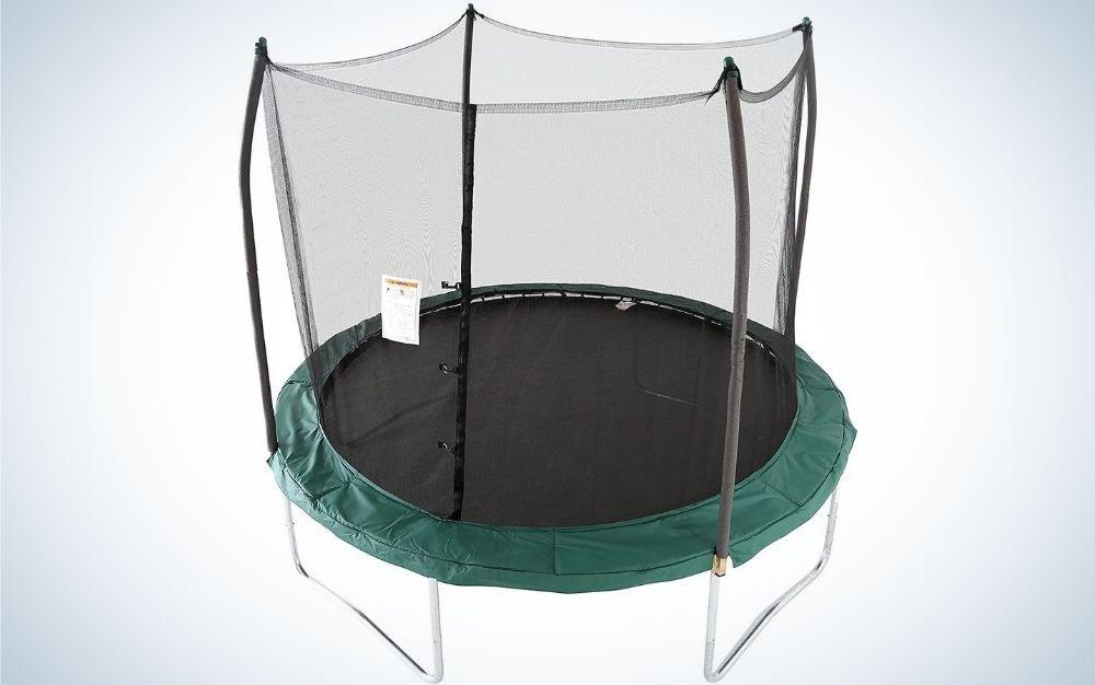 The Skywalker Round Trampoline is the best budget trampoline.