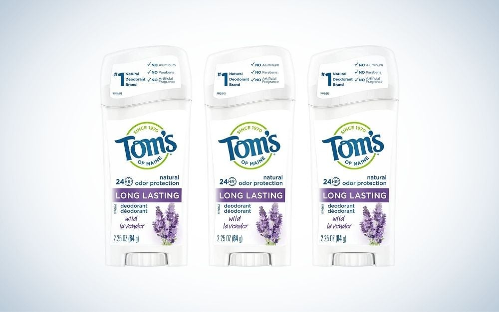 Toms' of Maine Aluminum-Free Natural Deodorant is the best deodorant for women.