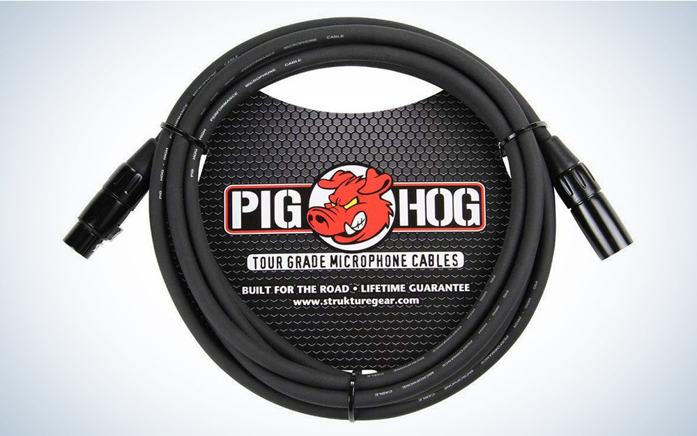 Pig Hof is our pick for best XLR cables.