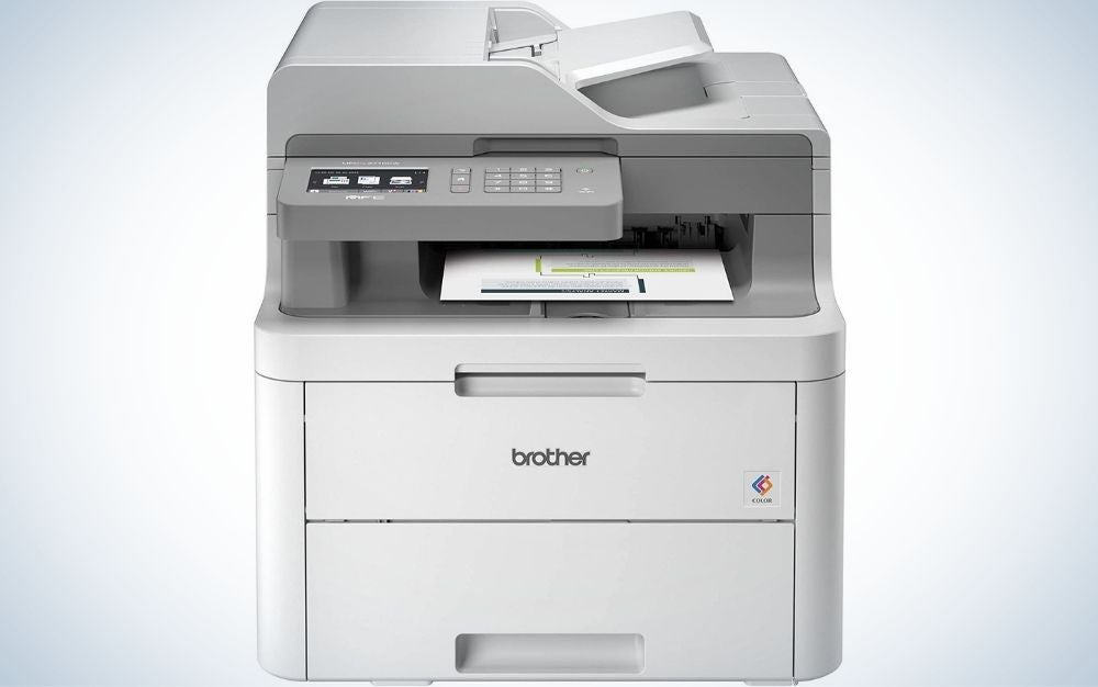The Brother MFC-L3710W Compact Digital All-in-One Printer is the best copy machine for small businesses.