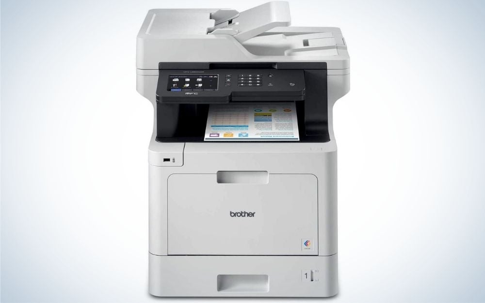 The Brother MFC-L8900CDW Color Laser All-in-One Printer is the best copy machine.